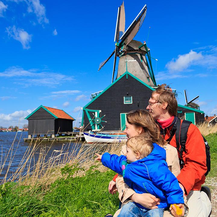 仕事よりも家族がベースの「オランダ」
